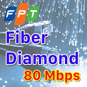 Fiber Diamond - 80Mbps